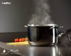 Lapitec® is heat resistant, making it the ultimate worktop for cooking with joy.