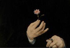 Joos van Cleve, Self portrait, 1519c det