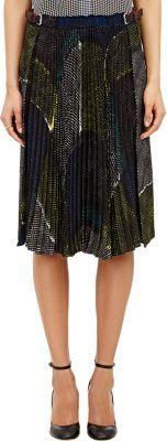 David Szeto Pleated Skirt  Price : 1030.00$