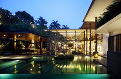 The Sun House, Cingapura - Guz Architects