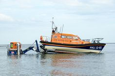 Exmouth RNLI Shannon Class Lifeboat R & J WELBURN