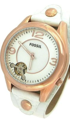 Fossil Twist Casual Mother-of-Pearl Dial Women's Watch #ME1106