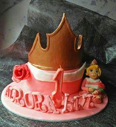 Baby aurora cake by @gunaydin.cake  #auroracake #princesauroracake