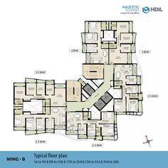 Apartment Building Plans Floor Plans Cad Block