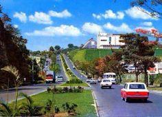 San Salvador, El Salvador // Bulevar del Ejercito y Molinos de El Salvador (MOLSA), años 60s o 70s