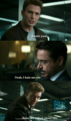 """""""You're supposed to say I hate you back."""" HAHAHA I FEEL BAD."""