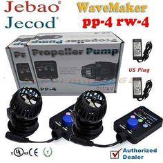 Pumps Water 77641: 2 Pump Set - Jebao Jecod Pp4 Wireless Wavemaker Aquarium Pump Rw4 S New Magnet -> BUY IT NOW ONLY: $91.58 on eBay!