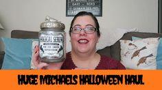 Huge Michaels Halloween Haul