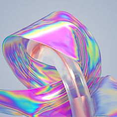 Iridescent Artworks by Machineast | Inspiration Grid | Design Inspiration