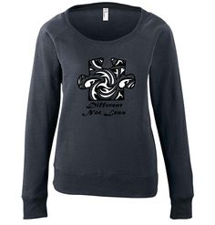 Puzzle Design Ladies Lightweight Slouch Pullover