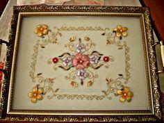 Lady Ricamo Lady, Frame, Handmade, Home Decor, Picture Frame, Hand Made, Decoration Home, Room Decor, Frames