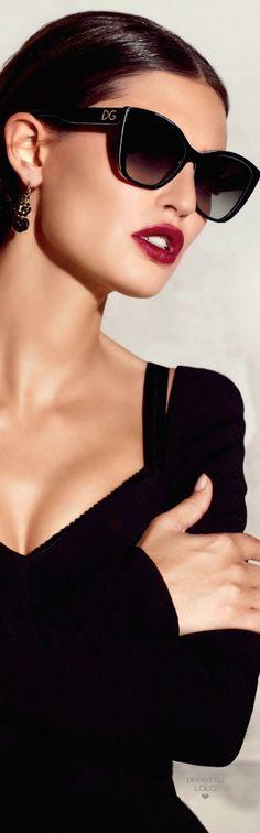 Bianca Balti for Dolce & Gabbana Summer 2015 Sunglasses | LOLO❤