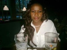 Having a drink :P