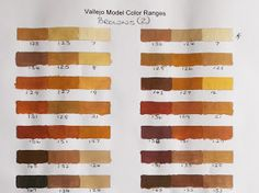 Vallejo Model Color Paint charts and triad combinations Vallejo Paint, Paint Charts, Figure Painting, Paint Colors, Google Drive, Scale Models, Diorama, Miniatures, Colours