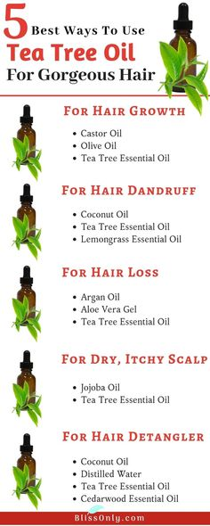 Tea tree oil gives endless benefits to our hair. It has powerful antioxidants which nourish your hair and also treat hair loss. It moisturizes your scalp and relieves from dry scalp. The antimicrobial activity of tea tree oil cleanses your scalp and help Essential Oils For Hair, Tea Tree Essential Oil, Essential Oil Dry Scalp, Healthy Hair Tips, Healthy Hair Growth, Healthy Skin, Coconut Oil For Dandruff, Coconut Oil On Hair, Huile Tea Tree