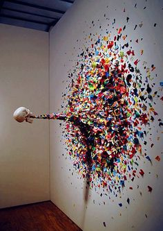 Confetti death by Typoe