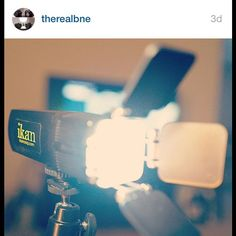 @therealbne using the #ikan #micro #LED #spotlight iLED-MS, he's able to keep it in his bag at all times! ⭐️