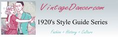 Join the 1920's Style Guide blog series and learn all about 1920's fashion for women and men.http://www.vintagedancer.com/1920s/1920s-fashion-for-your-body-type/