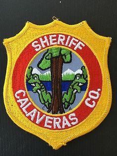 Calaveras County  California  Sheriff Shoulder Patch
