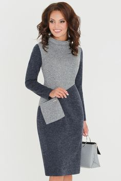 Stylish Work Outfits, Business Casual Outfits, Classy Outfits, Chic Outfits, Fashion Outfits, Ladies Day Dresses, Work Dresses For Women, Simple Dresses, Casual Dresses