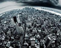 New York by Jakob Wagner, via Behance
