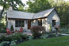 Wow... a new cottage built from antique materials.  Look at the interior shots too.