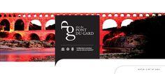 Pont du Gard - Proposition graphique pour la création d'une plaquette