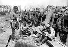 Trench Warfare  Part 1 of 2: Readthe accounts describing life and death in the trenches and then examine the pictures that follow. DISCLAIMER: Some Images are unpleasant. Over 40 million cas…