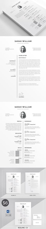 Resume/CV @creativework247 Resume Templates - Business Resume