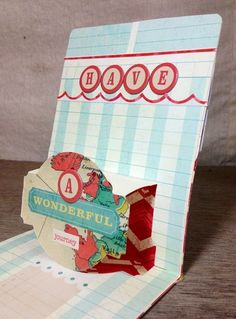 Another beauty by Jane Clark using Sizzix Pop 'n Cuts.