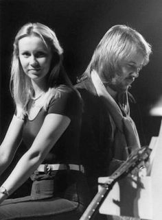 ABBA Agnetha and Benny