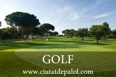 Golf Girona 44km from #ciutatdepalol   Golf Girona is an 18 holes, Par 72, golf course designed by the prestigious architect F.W.Hawtree.     It is watered with regenerated water and its the only one in Spain all seeded with PENNCROSS, the highest quality grass for the practice of golf.