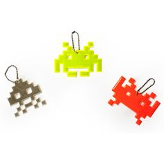 Space Invaders Key Ring