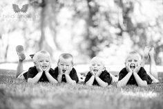 Inspire: Session with 4 Boys by Heidi Chowen Photography