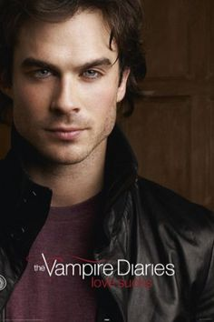 Ian Somerhalder is Damon Salvatore - The Vampire Diaries