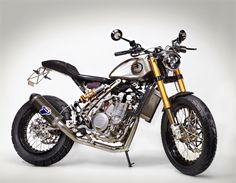Zaeta 530 DT Street Tracker #motorcycles #streettracker #motos | caferacerpasion.com