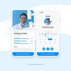 Have an idea to build online doctor appointment booking application? We help to create powerful doctor appointment booking app with real-time availability and easy to use for patients. Contact us@ 919725044067 Web Design, App Ui Design, Mobile Application Development, App Development, Card Ui, Folders, Business Cards Layout, Dental Office Design, App Design Inspiration