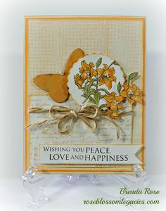 Rose Blossom Legacies: Wishing You Peace
