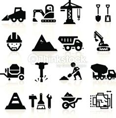Vector Art : Construction icons