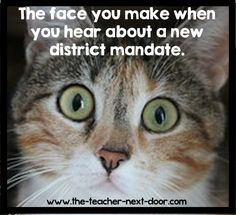 Oh Lordy... Find more Teacher Humor at The Teacher Next Door.