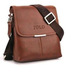Brand New Stylish Trendy Men's Cross-body, Shoulder Leather Handbag