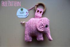 Crochet very soft and cute elephant amigurumi. This is not my pattern. Written pattern found here: http://haakinformatie.nl/patroon/haakpatroon-olifantje