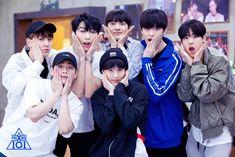 "Group X Battle - ""Girls Girls Girls"" Team during practice time Korea Boy, Produce 101 Season 2, Btob, Jinyoung, Memes, Yuri, Seventeen, Rapper, Instagram Posts"