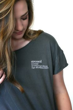 Stressed | Define Yourself | Tee