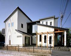 パナソニック耐震住宅工法テクノストラクャーで建設された注文住宅:外観