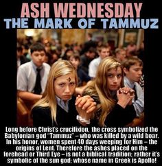 Ash Wednesday origins, no Christian should celebrate it o