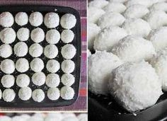 Nepečené kokosové kuličky téměř bez cukru