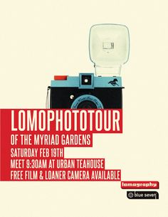 Blue Seven Lomophoto Tour poster 3