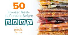 50 Freezer Meals Before Baby Arrives - Once a Month Meals Easy Freezer Meals, Dump Meals, Make Ahead Meals, Freezer Cooking, Cooking Stuff, Crockpot Recipes, Cooking Recipes, Dump Recipes, Easy Recipes