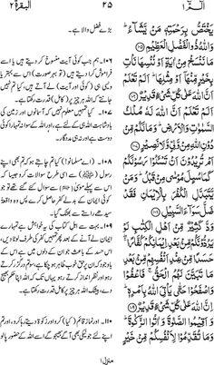 Irfan ul Quran  Part #: 01 (SayaqooluAlif laam meem)  Page 025